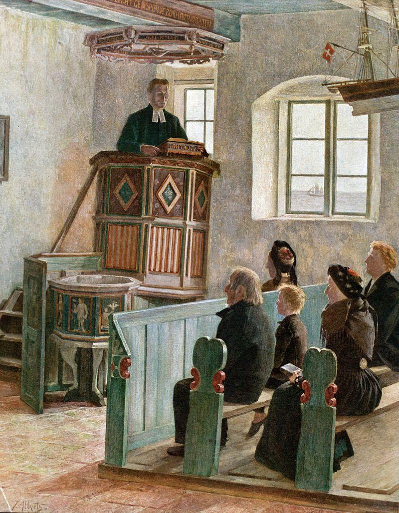 Vom Predigen. Widersprüche zu#abkanzeln