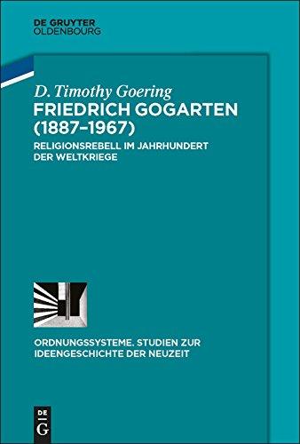 Rezension zu: D. Timothy Goering, FriedrichGogarten